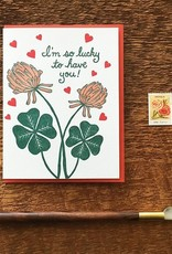 Noteworthy Card Lucky Clover