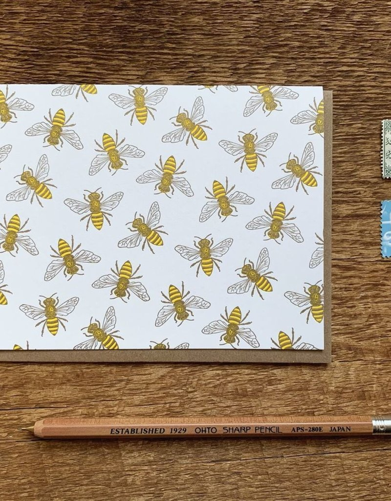 Noteworthy Card Bee Blank