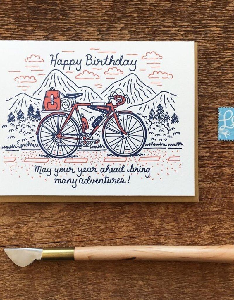 Noteworthy Card Birthday Bike