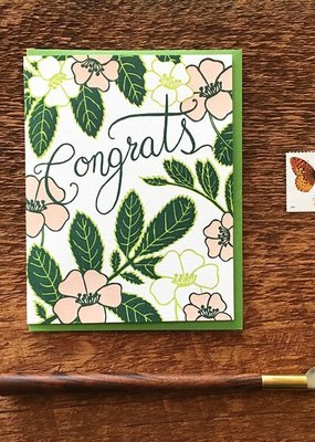 Noteworthy Card Congrats Flowers
