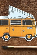 Noteworthy Postcard Camper Van