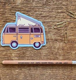 Noteworthy Sticker Camper