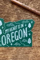 Noteworthy Sticker Oregon State