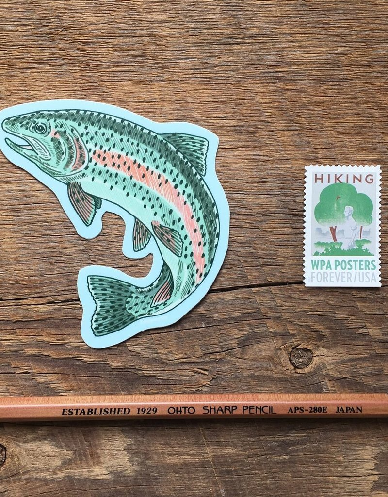 Noteworthy Sticker Trout