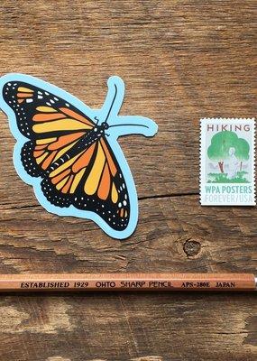 Noteworthy Sticker Monarch