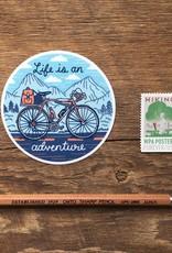 Noteworthy Sticker Adventure Bicycle