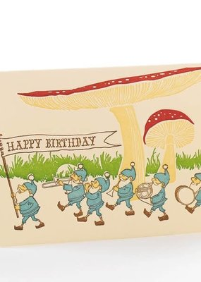 Ilee papergoods Card Happy Birthday Gnomes