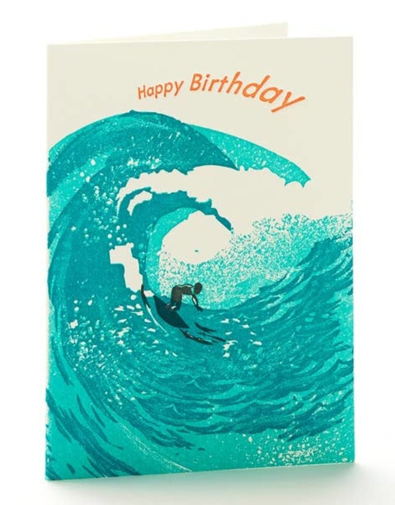 Ilee papergoods Card Waves Happy Birthday