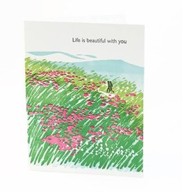 Ilee papergoods Card Life Is Beautiful With You