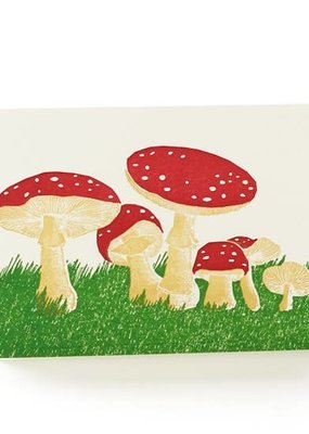 Ilee papergoods Card Mushrooms