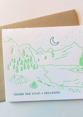 Harken Press Card Stars and Dreaming
