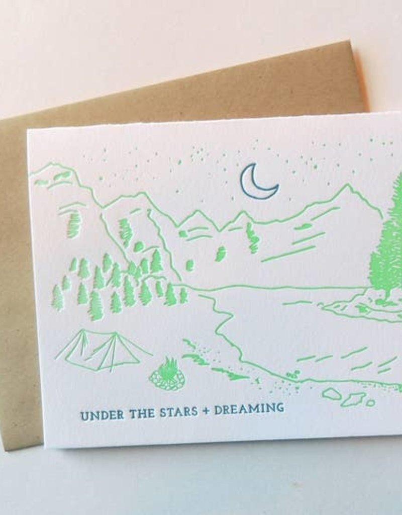 Harken Press Card Stars and Dreaming