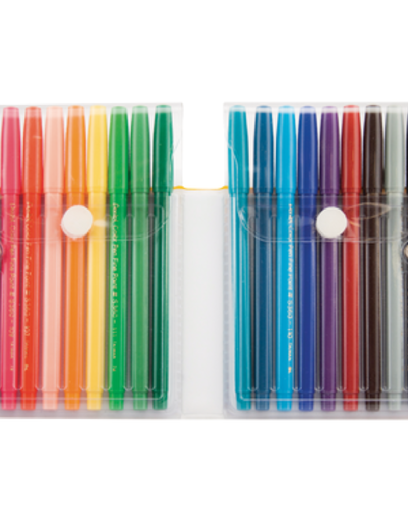 Pentel Color Pen Set Of 18