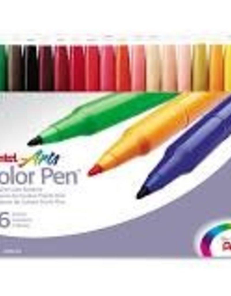 Pentel Color Pen Set of 36