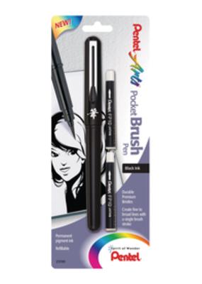 Pentel Pocket Brush Pen Black