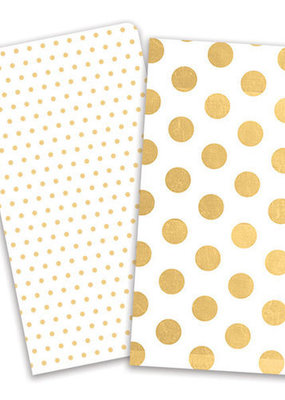 Paper House Journey Notebooks Gold Dots