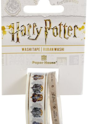 Paper House Washi Harry Potter House Crests