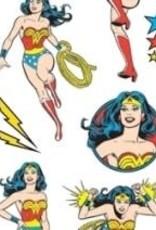 Paper House Sticker Sheet 2 X 4 Wonder Woman