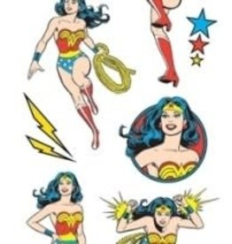 Paper House Sticker Sheet 2 X 4 Wonder Woman