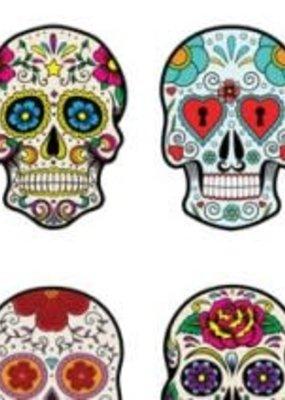 Paper House Sticker Sheet 2 X 4 Sugar Skulls