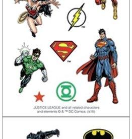 Paper House Sticker Sheet 2 X 4 Justice League