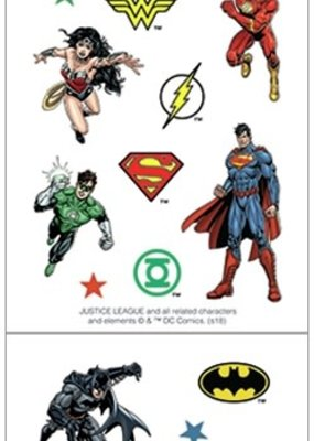Paper House Sticker Sheet 2 X 4 Justice League