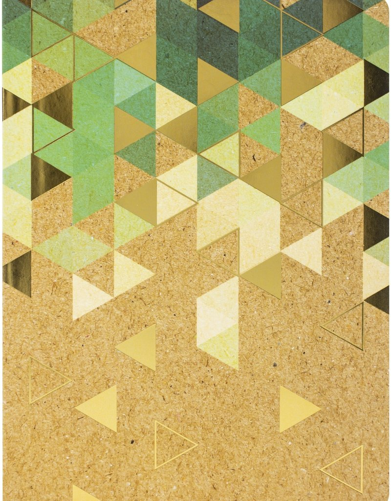 Paper House Journal Krafted Green Dot Grid