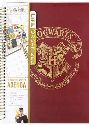 Paper House Planner 12 Month Undated Hogwarts