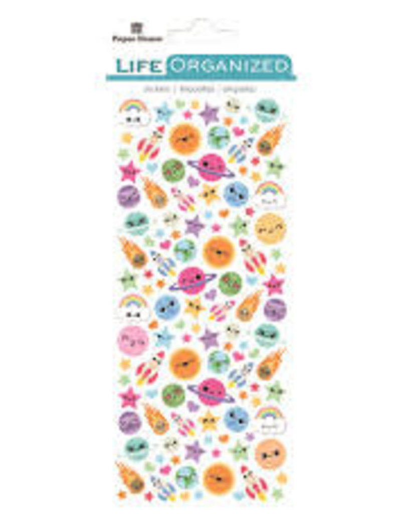 Paper House Stickers Life Organized