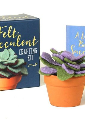 Running Press The Felt Succulent Crafting Kit