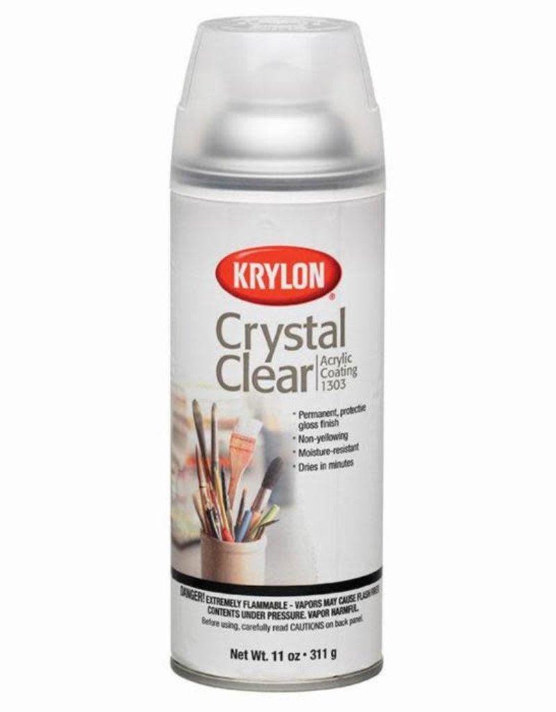 Krylon Crystal Clear Acrylic Spray 11 Ounce