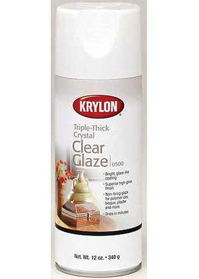Krylon Triple-Thick Crystal Clear Glaze 12 Ounce Spray Can