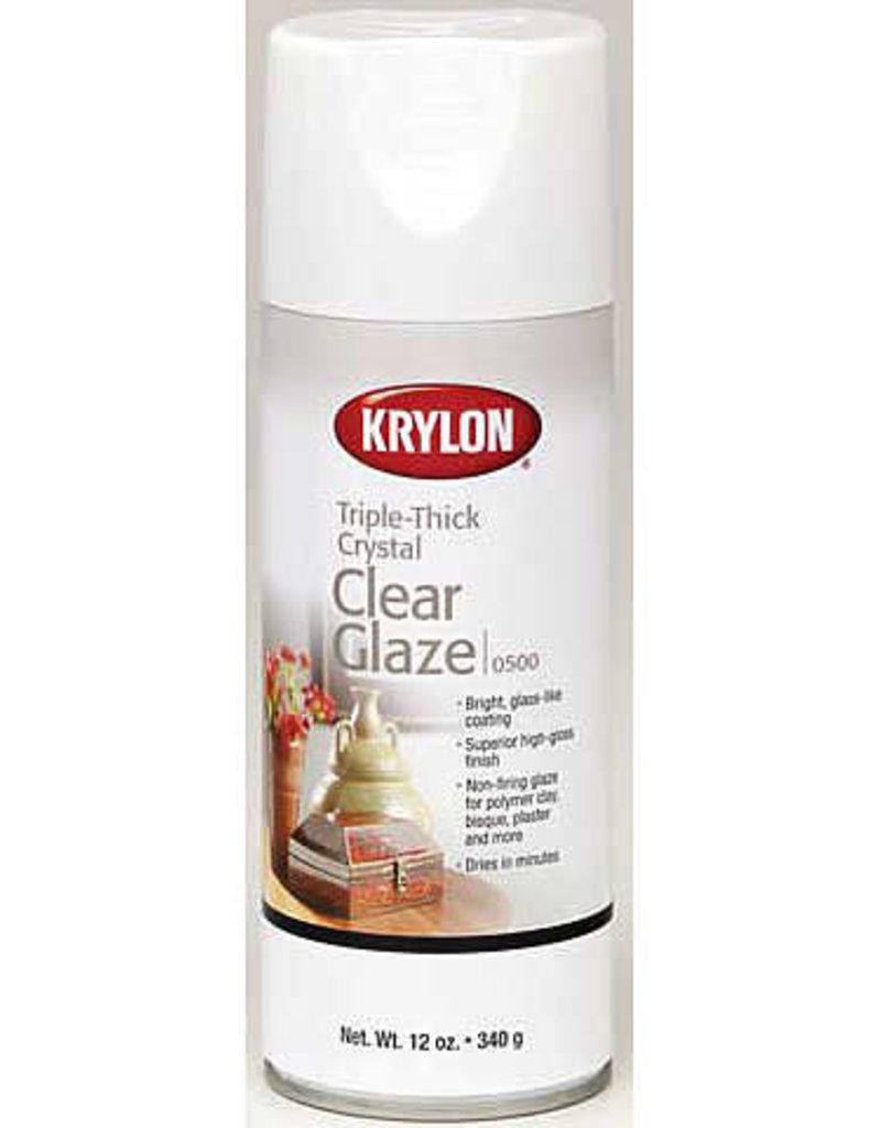 Krylon Crystal Clear Glaze 12 Ounce Spray Can
