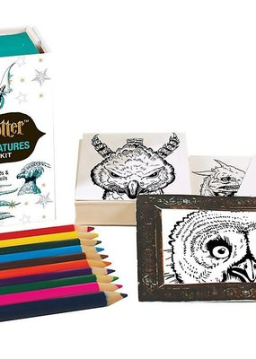 Hachette Harry Potter Magical Creatures Coloring Kit
