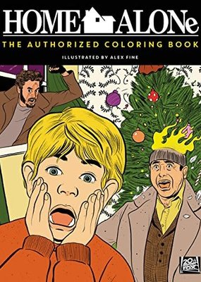 Harper Collins Home Alone: The Authorized Coloring Book