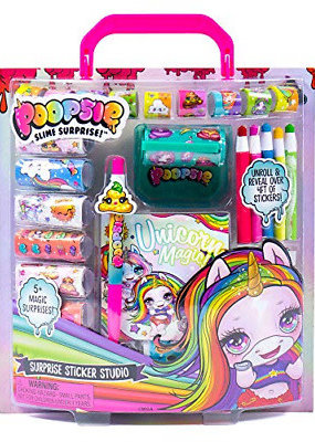 Horizon Group Stationery Sticker Studio Poopsie