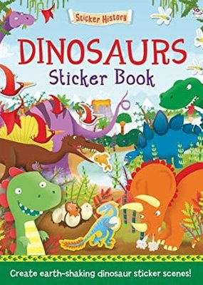 IPG Sticker Book Dinosaurs