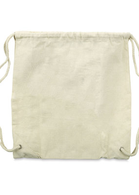 Mark Richards Backpack Drawstring Canvas Natural