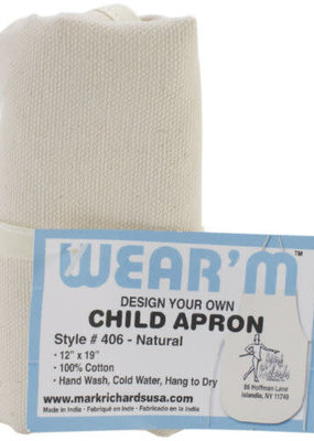 Mark Richards Apron Canvas Natural Child