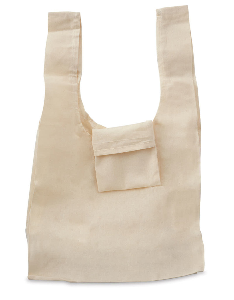 Mark Richards Tote Canvas Natural Grocery Bag