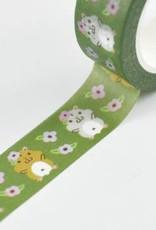 Noristudio Washi Hamster And Flower