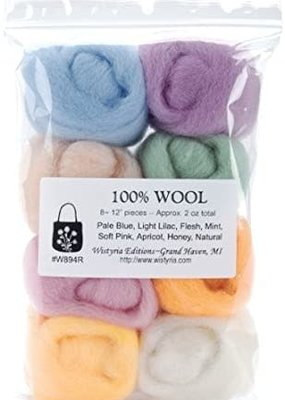 Wistyria Editions Wool Roving Multi Pack