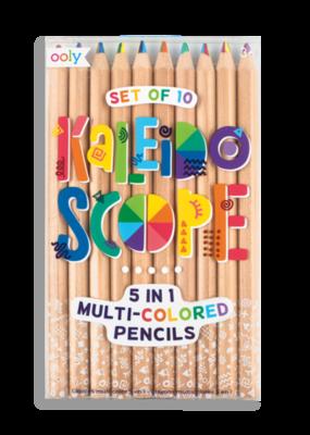 Ooly Kaleidoscope Multi Colored Pencils Set Of 10