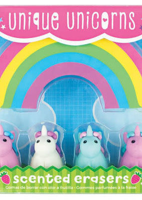 Ooly Unique Unicorns Scented Erasers Set Of 5