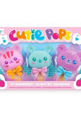 Ooly Cutie Pops Scented Erasers set of 3