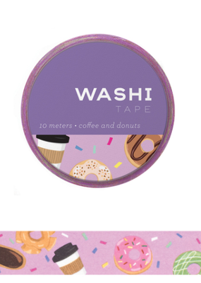 Girl of All Work Washi Coffee And Donuts