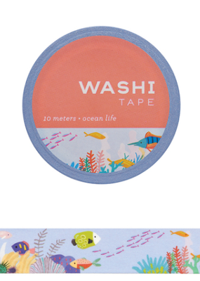 Girl of All Work Washi Ocean Life