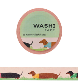 Girl of All Work Washi Dachshunds