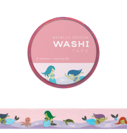 Girl of All Work Washi Mermaids