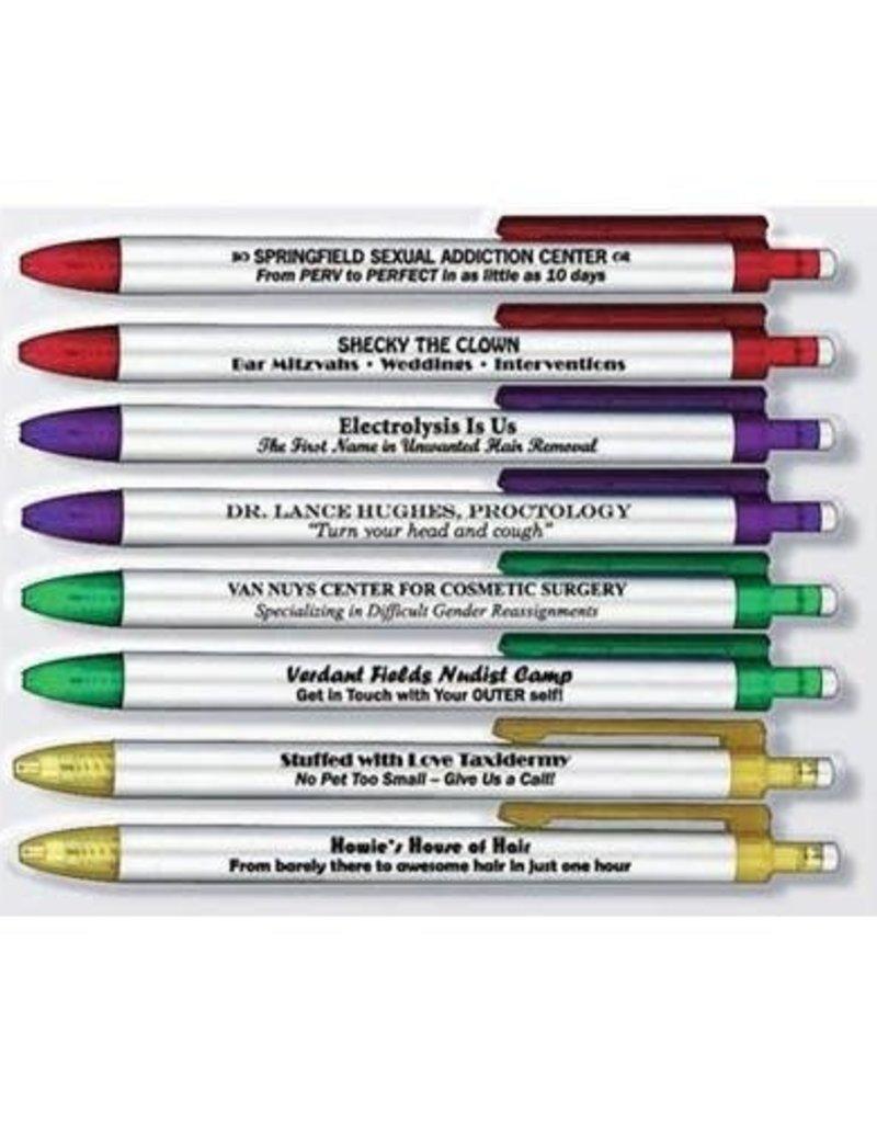 Fred Borrow My Pen Set of 8